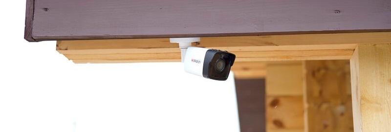 Установка видеокамер в коттедже