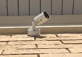 Монтаж камер видеонаблюдения на складе