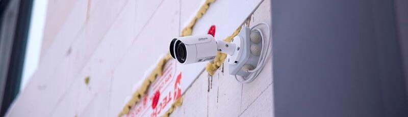 Монтаж и камер видеонаблюдения в загородном доме