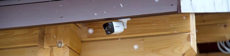 Работы по установке видеокамер в частном доме