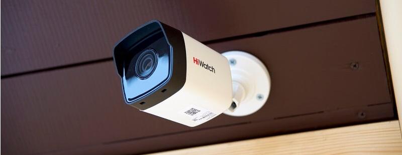 Монтаж камер видеонаблюдения в офисном помещении